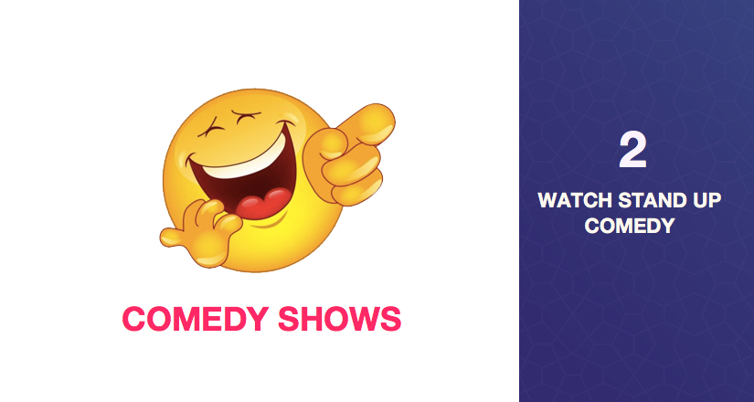 watch comedy shows