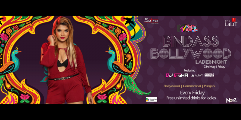 Mtv Beats Presents Bindass Bollywood Ft  Dj Esha At Lalith Ashok