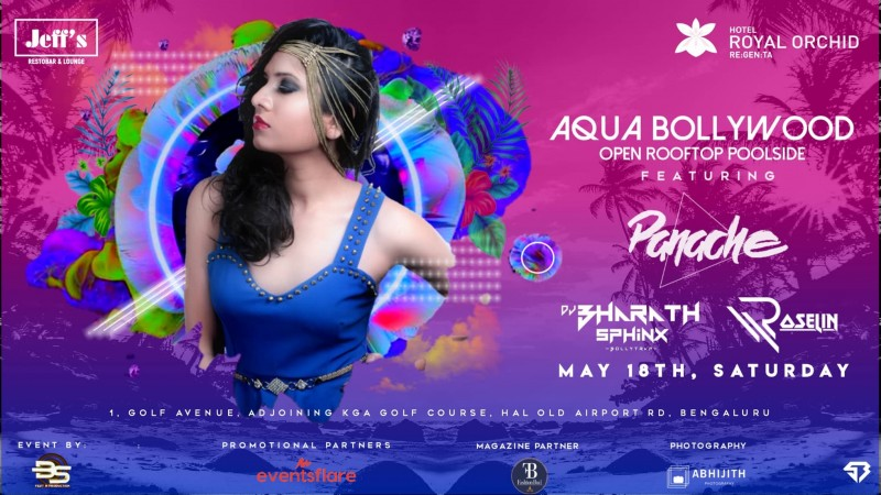 Bollywood Night With Dj Panache and Bharath Sphinx At Jeff Royal Orchid
