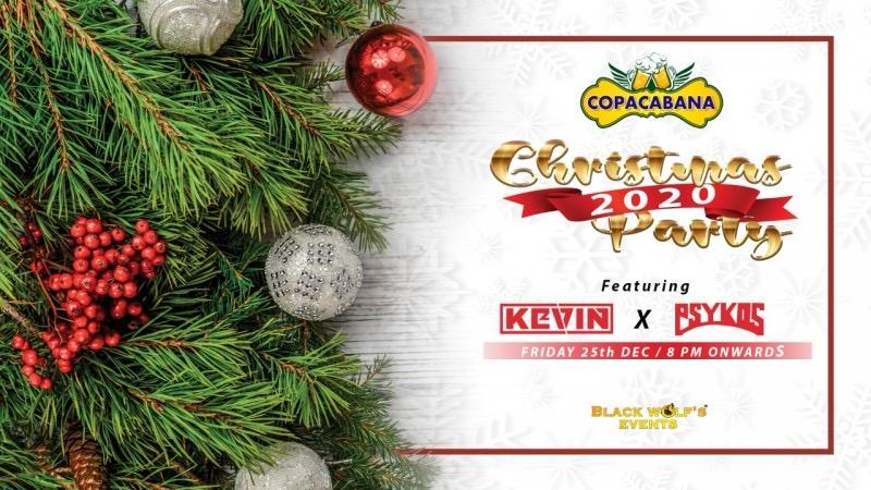 Christmas Party At Copacabana Pub