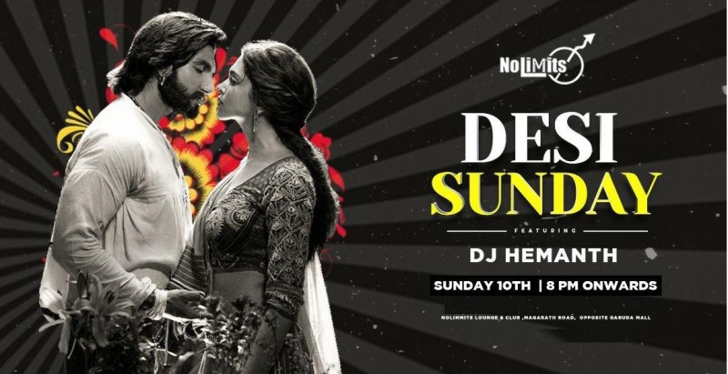 Desi Sunday With Dj Hemanth At Nolimmits Lounge & Club