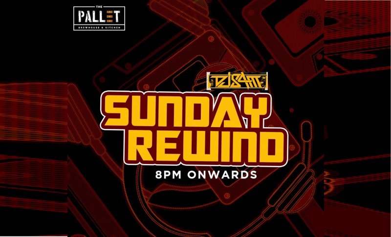 Sunday Rewind With Dj Sam At The Pallet - Brewhouse  Kitchen