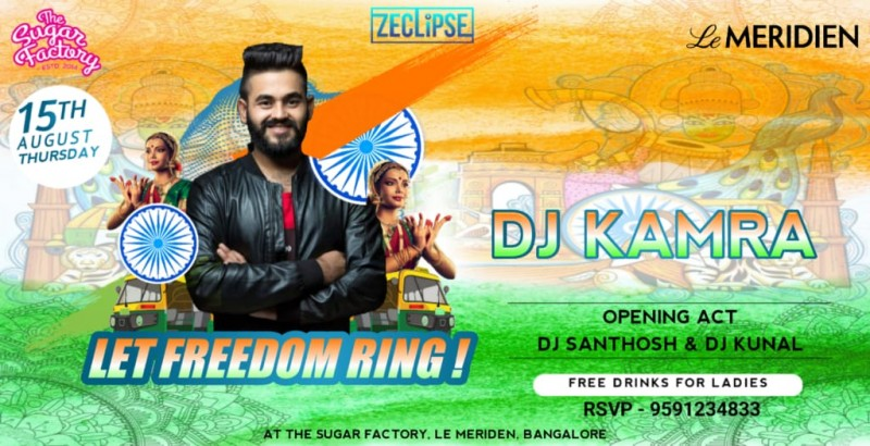 Let the Freedom Ring - Independence day Bash @TSF