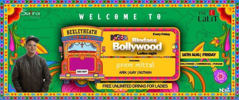 Mtv Beats presents Bindass Bollywood Ladies Night