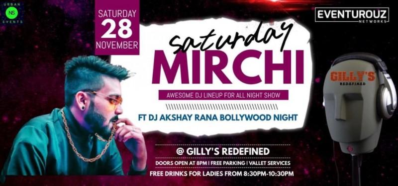 Saturday Mirchi Bollywood Night