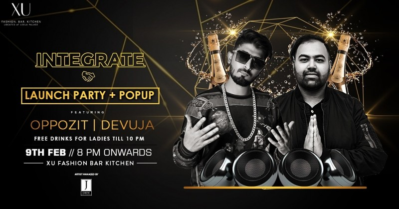 Integrate Launch + Pop Up Party At XU Leela Palace
