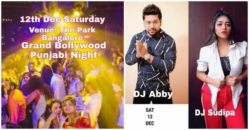 Grand Bollywood Punjabi Saturday Party at The Park Bangalore