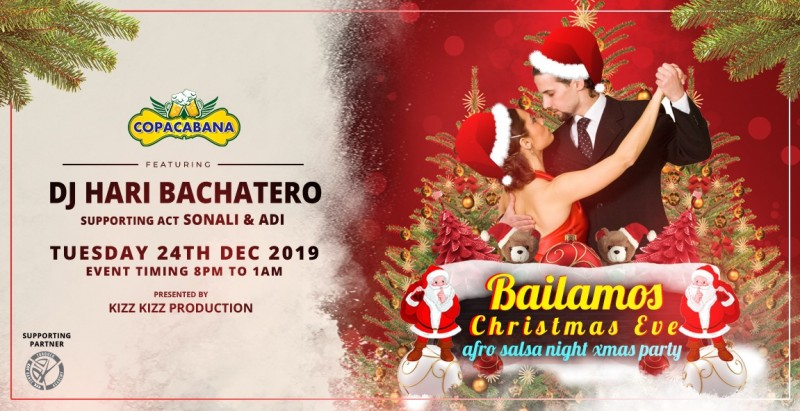 Bailamos Christmas Eve Afro Latin Salsa Night