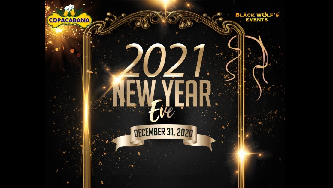 New Year Party  2021 At Copacabana Pub
