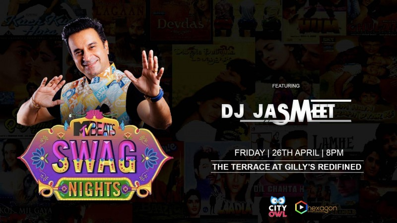 MTV Beats Swag Nights with DJ Jasmeet At Gillys Redefined
