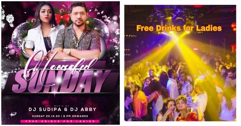 Grand Sunday Bollywood Punjabi Night: Free Drinks: Ladies Night