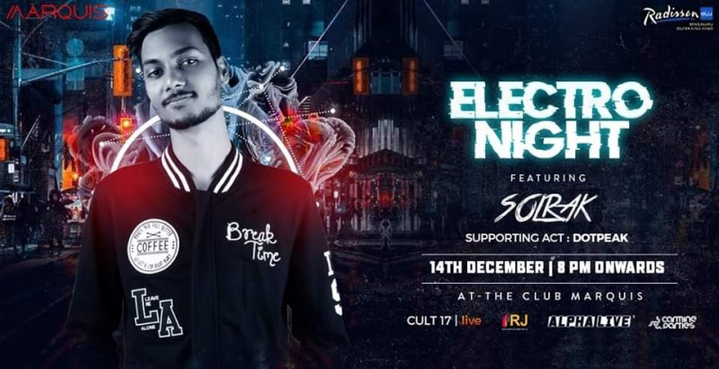 Electro NIGHT At-the Club Marquis ft. Solrak At Radisson Blu