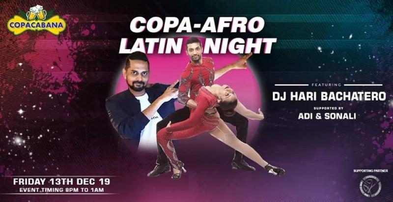 Copa Afro LatiNites Fridays - Kizz Kizz Productions