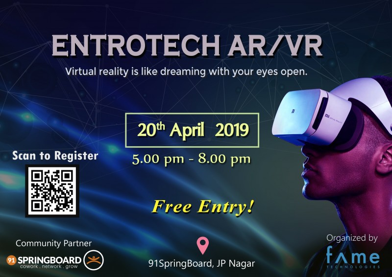 EntroTech AR/VR Event At 91 Springboard