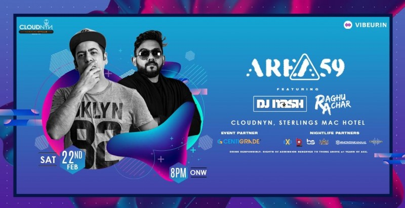 Dj Nash & DJ Raghu at Cloudnyn
