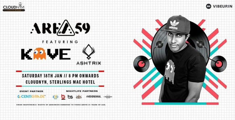 Area 59 ft Dj Kave 18th Jan | CloudNYN.