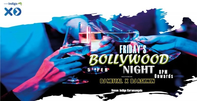 Bollywood Video Night -Ft James Miithal   Indigo XP