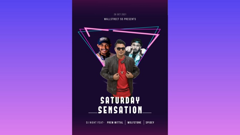 Sensation Saturday at 55 Wall Street JP Nagar