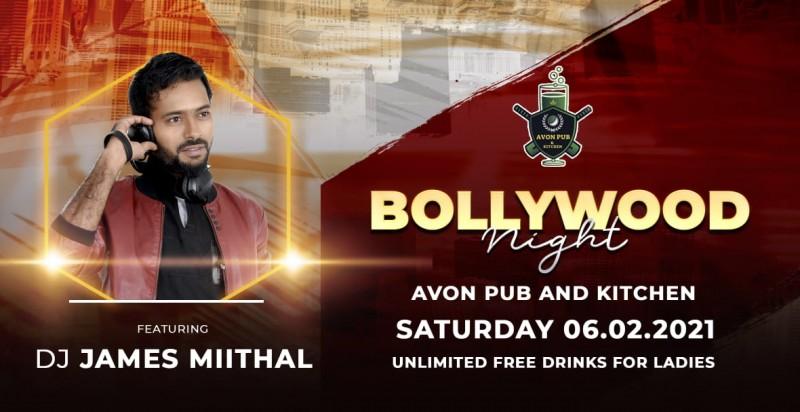 Saturday Bollywood Night -Ft James Miithal