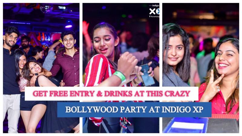 Bollywood Night ft James Miithal   Indigo XP Koramangala