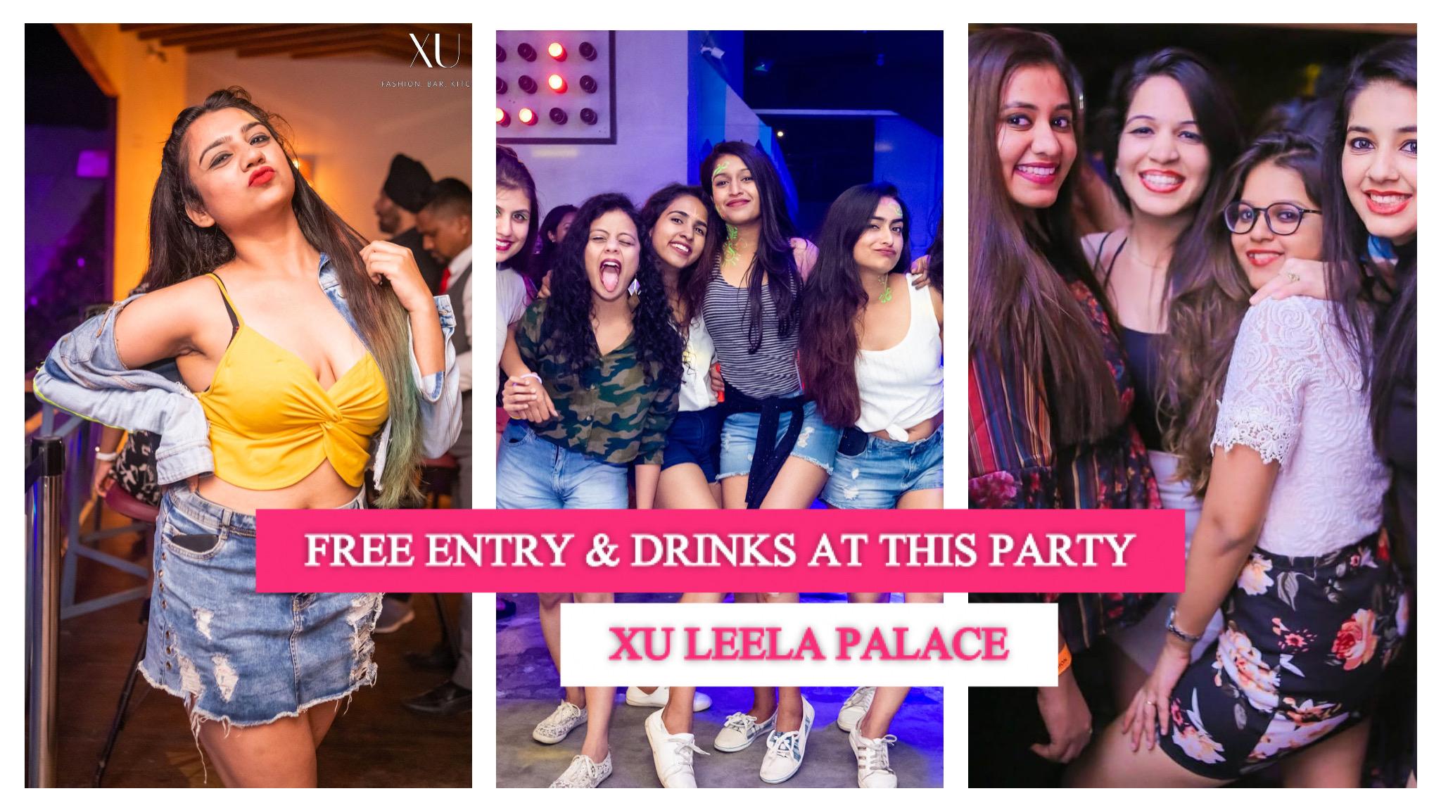 Desi Swag Ladies Night   XU Leela Palace