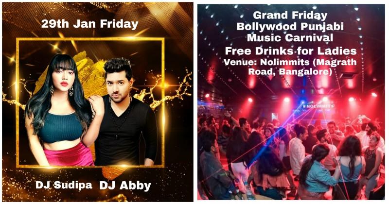 Grand Friday Bollywood Punjabi Music Carnival
