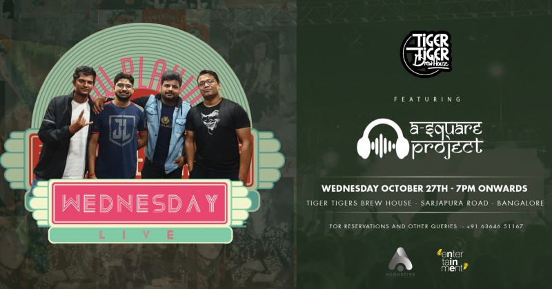 A Square Project At Tiger Tiger on wednesday
