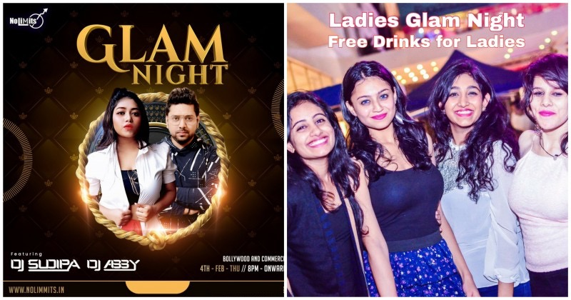 Thursday Bollywood Ladies Glam Night: Free Drinks for Ladies