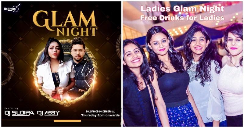 Grand Thursday Bollywood Ladies Glam Night