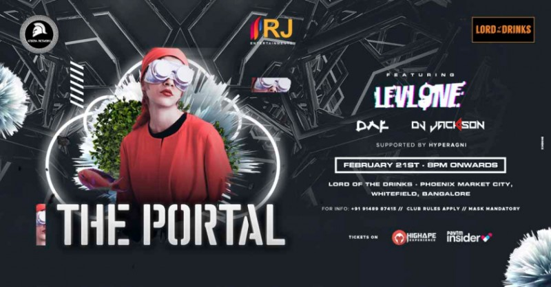 The Portal | Lord of The Drinks Whitefield - Free Entry